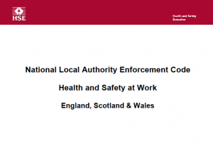 Local authority safety enforcement guidance